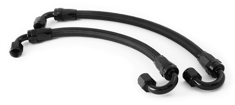 Fragola Braided Fuel Hose / Hose-ends for dual kits