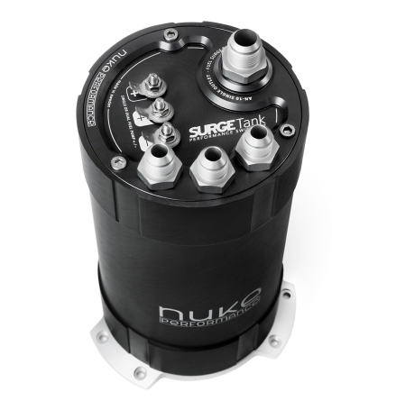2G Fuel Surge Tank 3.0 liter for single or dual Deatschwerks DW400