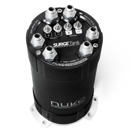 2G Fuel Surge Tank 3.0 liter for up to three internal fuel pumps