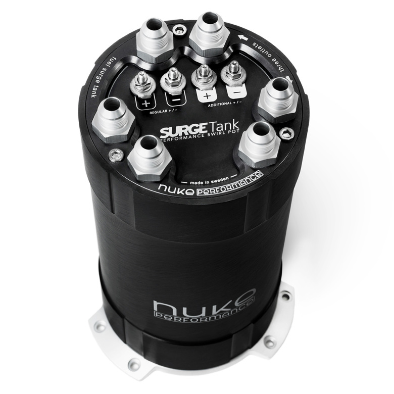 2G Fuel Surge Tank 3.0 liter for internal fuel pumps