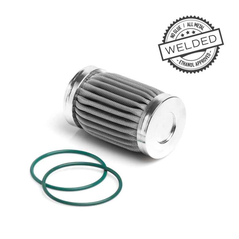 10 Micron Filter Element - Welded Stainless Steel