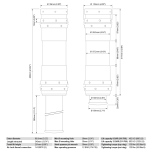 Air Jack 90 Competition Complete Set 2pc, 8 BAR / 120 PSI