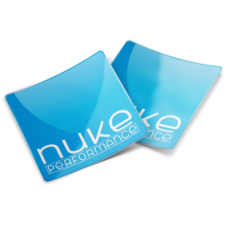 2pc Nuke Performance Sticker 80x80mm
