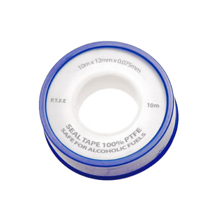 PTFE Thread Seal Tape 12mm X 0.075mm X 10m