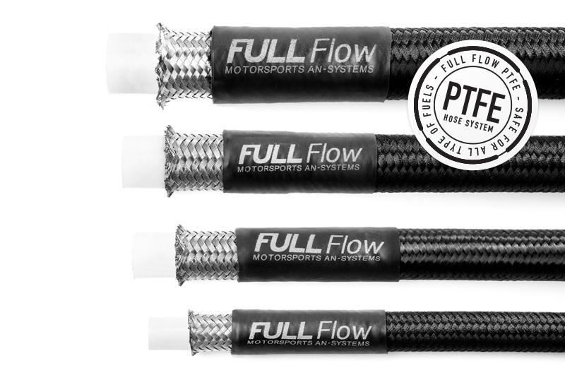 Braided PTFE Fuel Hose