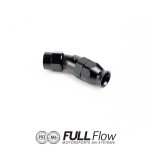Full Flow PTFE Hose End Fitting 30 Degree AN-6