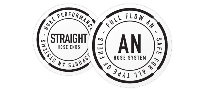 Straight Full Flow AN Hose End Fittings
