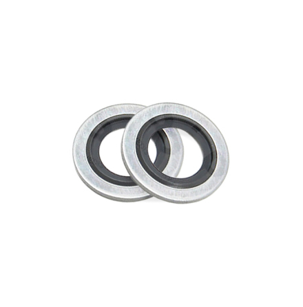 Rubber bonded washer M6